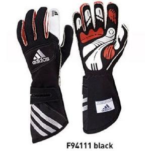 adidas(アディダス)レーシンググローブ adistar GLOVE BLACK(ブラック)FIA8856-2000公認 monocolle