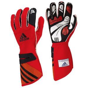 adidas(アディダス)レーシンググローブ adistar GLOVE RED/BLACK(レッド ブラック)FIA8856-2000公認 monocolle