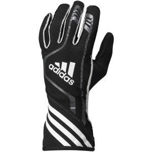 adidas(アディダス)レーシンググローブ RSR GLOVES BLACK/GRAPHITE/WHITE ブラック/グラファイト/ホワイト FIA8856-2000公認 monocolle