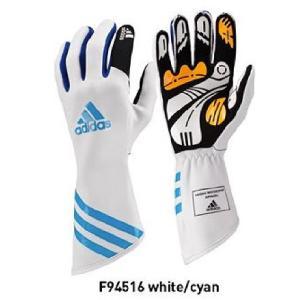 adidas(アディダス) XLT カートグローブ WHITE/CYAN/BLUE (F94516)|monocolle