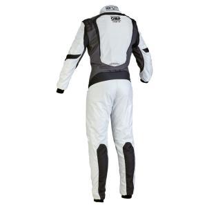 2016年モデル OMP ONE S1 レーシングスーツ シルバー/ブラック (SILVER/BLACK) FIA8856-2000公認|monocolle|02