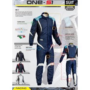 2016年モデル OMP ONE S1 レーシングスーツ シルバー/ブラック (SILVER/BLACK) FIA8856-2000公認|monocolle|04