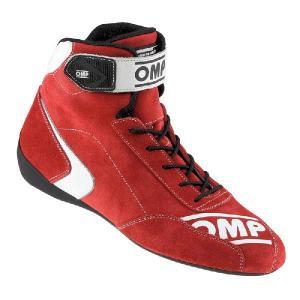 OMPレーシングシューズ FIRST S SHOES RED (ファースト)ミドルカット FIA公認8856-2000 本国取り寄せ品|monocolle