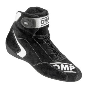 OMPレーシングシューズ FIRST S SHOES BLACK (ファースト)ミドルカット FIA公認8856-2000|monocolle