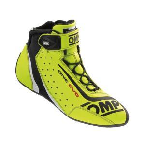 OMP レーシングシューズ ONE EVO SHOES Yellow(イエロー) FIA公認8856-2000|monocolle