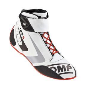 2016 OMPレーシングシューズ ONE S SHOES WHITE (ホワイト) ミドルカット FIA公認8856-2000|monocolle