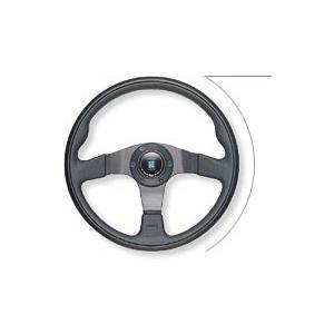 NARDI ナルディステアリング Twinブラック/パンチングブラック&ブラックスポーク350mm|monocolle