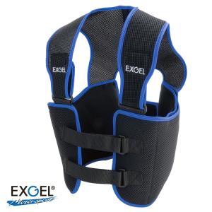 EXGEL エクスジェル リブプロテクター ベスト レーシングカート用(AKK22) monocolle