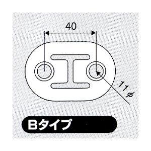 JURAN マフラーリング Bタイプ ブラック 2ヶ入り|monocolle