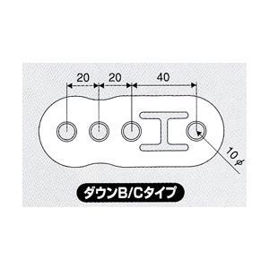 JURAN ダウンマフラーリング B/Cタイプ ブラック 1ヶ入り|monocolle
