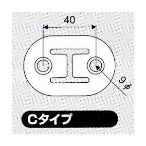 JURAN マフラーリング Cタイプ ブラック 2ヶ入り|monocolle