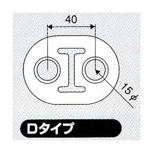JURAN マフラーリング Dタイプ ブラック 2ヶ入り|monocolle