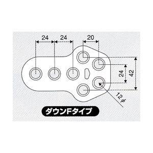 JURAN ダウンマフラーリング Fタイプ ブラック 1ヶ入り|monocolle