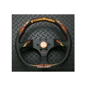 KEY!S Racing フォッサマグナ スーパードレス ステアリング D-シェイプ タイプ (NARDIピッチ)|monocolle