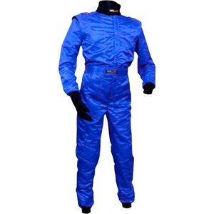 CLA レーシングスーツ LE-532V ブルー メンズサイズ レーシングカート・スポーツ走行用 monocolle