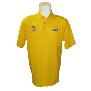 チームロータス Team Lotus ポロシャツ イエロー (LOT-CAM-PL01)|monocolle