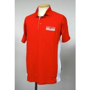 チームロータス TEAM LOTUS ゴールドリーフ・ポロシャツ '11 レッド (LOT-GLT-PL02)|monocolle