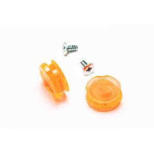 Ripsmile(リップスマイル)Tear Off Button(ティア オフ ボタン)ORANGE(オレンジ)半透明タイプ monocolle