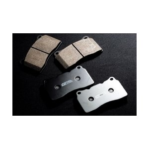 制動屋ブレーキパッド ホンダ シビック FD2 TYPE-R Brembo リヤ用 RM551 1SET|monocolle