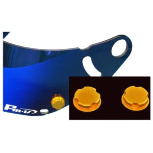 Ropos GOLD(ゴールド) ヘルメットバイザーアクセサリー monocolle