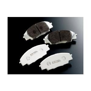 制動屋ブレーキパッド ホンダ シビック FD2 TYPE-R Brembo リヤ用 SM400 1SET|monocolle