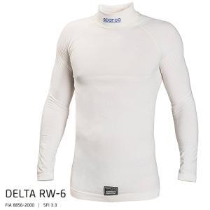 SPARCO スパルコ DELTA RW-6 アンダーウェア TOP トップ ロングスリーブ ホワイト FIA公認8856-2000 (001770MBI)|monocolle
