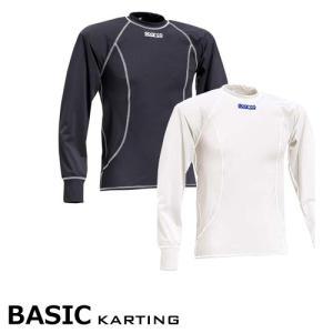 SPARCO スパルコ アンダーウェア TOP トップ BASIC(ベーシック) 長袖 レーシングカート・走行会用(00224)|monocolle