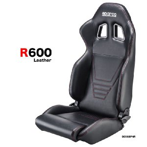 SPARCO スパルコ Tuning R600 レザー仕様 セミバケットシート 走行会・スポーツ走行用 monocolle