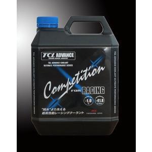 TCL ADVANCE レーシングクーラント Competition for RACING 冷却液 4L 1点 (TA-CC4L) monocolle