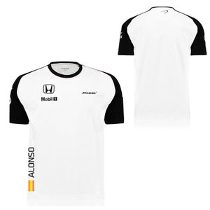 McLAREN HONDA マクラーレン ホンダ 2015 F.アロンソ チーム Tシャツ (TM3050A)|monocolle