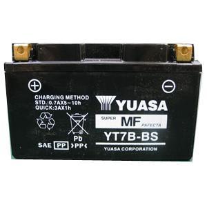 ROTAX MAX 純正指定バッテリー YUASA YT7B-BS(充電済み)|monocolle
