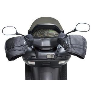 【送料無料】ユニカー Unicar 防寒 防水ハンドルカバー ブラック 汎用 BS-006|monodirect
