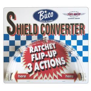 【送料無料・在庫有】BUCO(ブコ)★シールドの開閉を可能にする シールドコンバーター SHIELD CONVERTER クリアー|monodirect