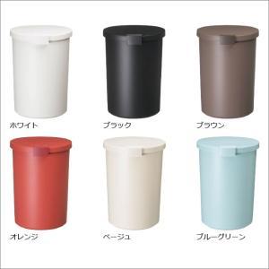収納式ゴミ箱 ゴミ箱 ごみ箱 ダストボックス ふた付き おしゃれ 分別 kcud クード ラウンドロック garbage can|monogallery|02