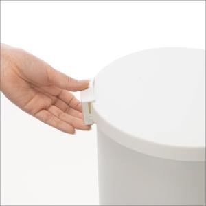 収納式ゴミ箱 ゴミ箱 ごみ箱 ダストボックス ふた付き おしゃれ 分別 kcud クード ラウンドロック garbage can|monogallery|05
