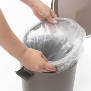 収納式ゴミ箱 ゴミ箱 ごみ箱 ダストボックス ふた付き おしゃれ 分別 kcud クード ラウンドロック garbage can|monogallery|06