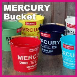 収納ボックス バケツ アメリカン雑貨 ブリキ マーキュリー Bucket バケット の商品画像