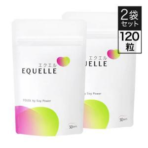 大塚製薬 エクエル パウチ 120粒 2袋 エクオール 大豆イソフラボン サプリ EQUELLE