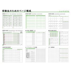 【モノラボ公式】スマテ-sumate- 2020年度版受験手帳(2021年受験用) 190mm×135mm 2020年4月始まり ST21(MONO-LAB-JAPAN) monolabjapan 07