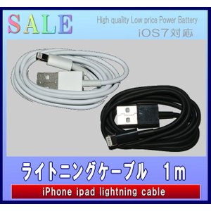 iphone5 5C 5S iPad 対応  互換 充電 データ lightningケーブル monomapjp