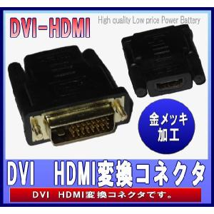 HDMIメス⇔DVIオス変換アダプタ  0504-1
