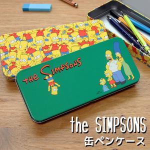 ザ・シンプソンズ 缶ペンケース バートいっぱい ぶらさがり 09s-SSST653 SSST654