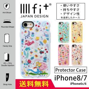 iphone8 ケース iphone7 ディズニー プリンセス イーフィット IIIIfit ハード...