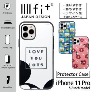 ディズニー IIIIfit iPhone 11 pro ケース ハイブリッド ミッキー ミニー トイ...