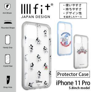 iphone11pro ケース ディズニー イーフィット IIIIfit クリア アイフォンpro ケース iphone 11 pro ケース|monomode0629