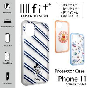iphone11 ケース ディズニー イーフィット IIIIfit クリア アイフォン 11 ケース iphone 11 ケース|monomode0629