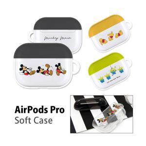 AirPods Pro ケース ディズニー ソフト ケース クリア Air Pods Pro エアーポッズpro プロ|monomode0629