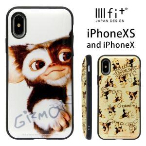iPhoneXS ケース iPhoneX キャラクター イーフィット IIIIfit グレムリン ギ...