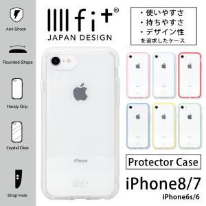 iPhone8 ケース iPhone7 ケース イーフィット IIIIfit クリア クリア アイフォン8 ケース iPhone 8 ケース|monomode0629