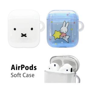 AirPods ケース キャラクター ミッフィー クリア おしゃれ Air Pods2